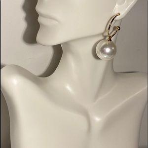 Jumbo Pearl Earrings